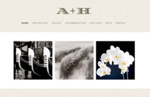 Sketchanet - Wedding Website Design